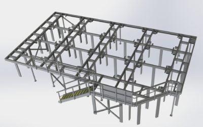 Glassfiberstruktur