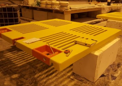 GRP subsea hatch