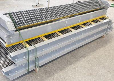 Glassfiberstruktur uten stål